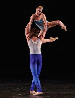 Isabella Boylston and Zachary Catazaro at 2015's Vail International Dance Festival. Photo by Erin Baiano.
