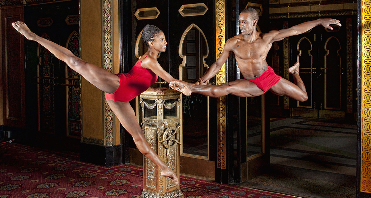 Jacqueline Green and Kirven Douthit-Boyd. Photography by Richard Calmes.