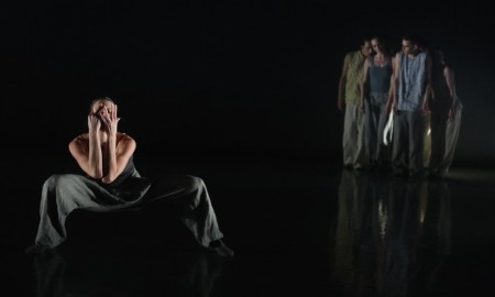 Leigh Lijoi and Company in Charlotta Ofverholm's After Lazarus