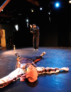 Hip-hop and butoh merge