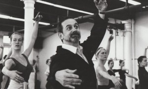 Robert Joffrey teaching class. Photo courtesy of JBS