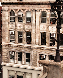The Joffrey Ballet School remains in its original location in NYC's Greenwich Village. Photo courtesy of JBS