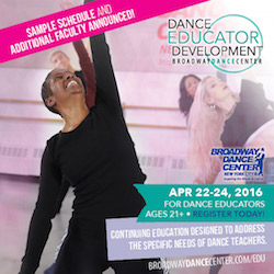 Broadway Dance Center's Dance Educator Development Program. Photo courtesy of BDC