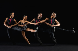 Dance Theatre of Harlem company artists in Nacho Duato's 'Coming Together'. Photo by Rachel Neville