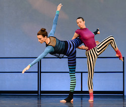 Lauren Ferguson and Emily Vetsch of Wendy Osserman Dance. Photo by Dariel Sneed, courtesy of Arts Brookfield.