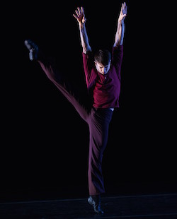 PNB Dancer Benjamin Griffiths in 'No Dominion'. Photo by Christopher Duggan.