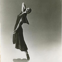 Verb Ballet's Artistic Director Margaret Carlson in 'Laura's Women'. Photo courtesy of the Cleveland Ballet.