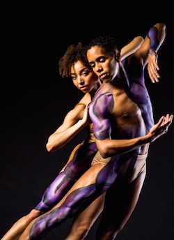 Dancers with the Black Iris Project. Photo by Matthew Murphy.