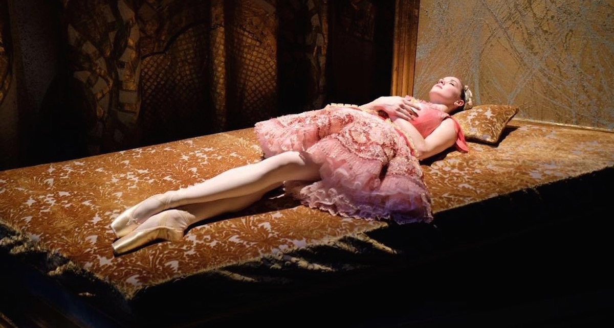 Cassandra Trenary as Aurora in 'The Sleeping Beauty'. Photo by Gillian Murphy