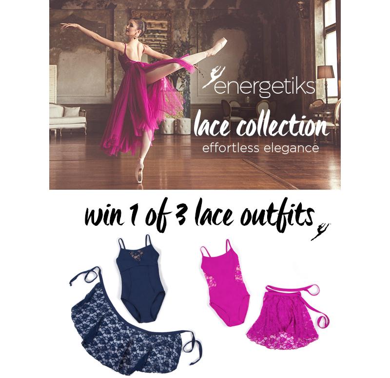 Energetiks lace dancewear giveaway