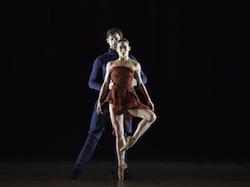 Tara Lee and Jonah Hooper in John McFall's 'THREE'. Photo by Charlie McCullers, courtesy of Atlanta Ballet.