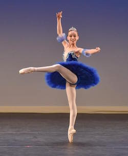 Madison Penny from Master Ballet Academy. Photo courtesy of YAGP.