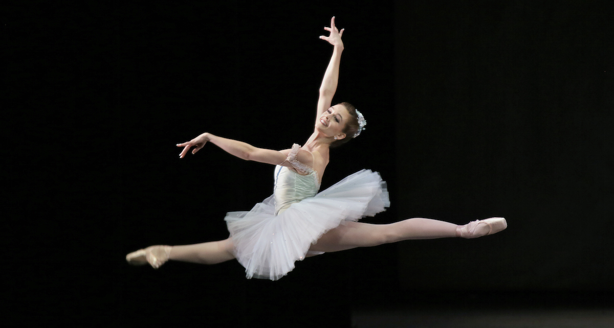 New York City Ballet Principal Lauren Lovette in 'Raymonda', Choreography by George Balanchine. Photo by Paul Kolnik.