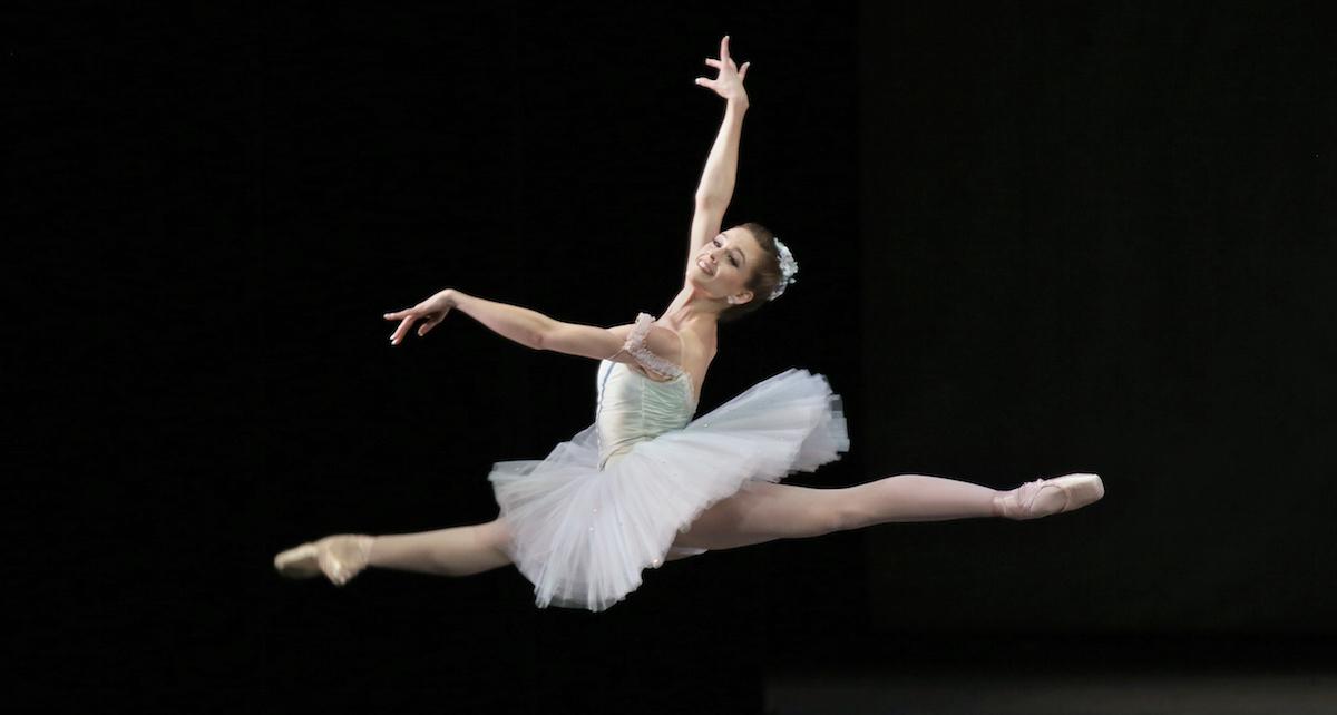 New York City Ballet Principal Lauren Lovette in 'Raymonda', Choreography by George Balanchine. Photo by Paul Kolnik.