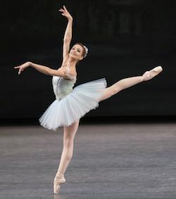 New York City Ballet Principal Lauren Lovette in 'Raymonda'. Choreography George Balanchine. Photo by Paul Kolnik.