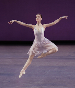 New York City Ballet's Lauren Lovette in 'Walpurgisnacht', Choreography by George Balanchine. Photo by Paul Kolnik.