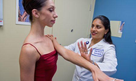 Dr. Selina Shah at work. Photo courtesy of Dr. Shah