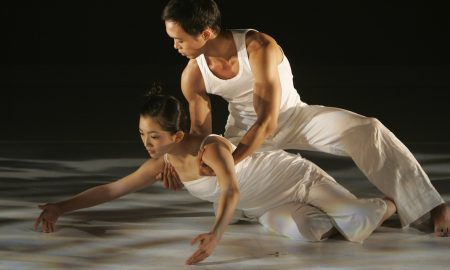 H.T. Chen and Dancers in 'Shift'. Photo by Carol Rosegg