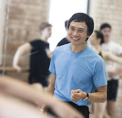Queensland Ballet Artistic Director Li Cunxin. Photo by Christian Tiger, courtesy of Queensland Ballet.