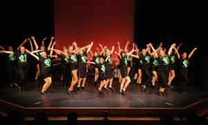 Students performing at the 2015 Jersey Tap Fest. Photo by Darnell Gourdine