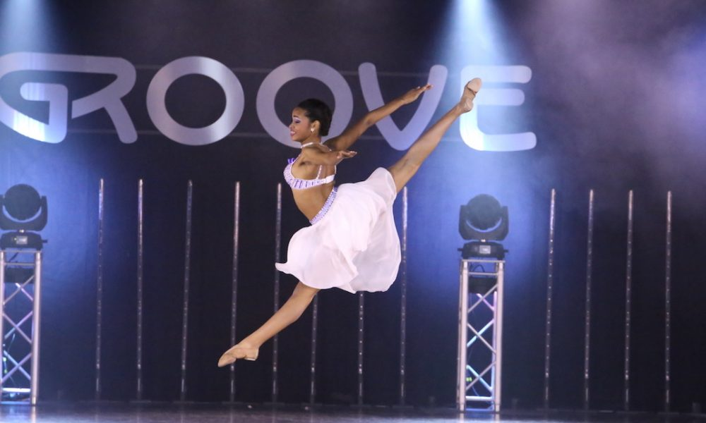 A dancer at a Groove Dance Competition event. Photo courtesy of Groove.