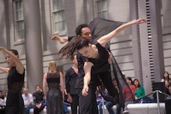 Dana Tai Soon Burgess Dance Company in 'Confluence'. Photo by Jeff Malet.