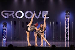 Dancers at a Groove Dance Competition event. Photo courtesy of Groove.