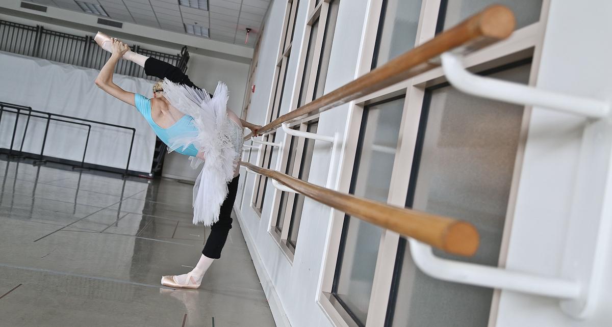 Dusty Button, principal dancer at Boston Ballet. Photo by Mitchell Button.