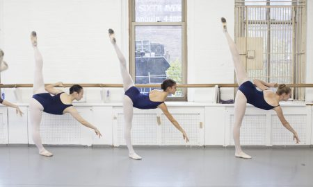ballet class barre
