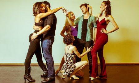 Performers in 'Ephemera'. Photo courtesy of 'Ephemera'.