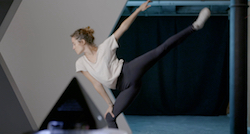 A dancer using Point Motion. Photo courtesy of Golden Wish.