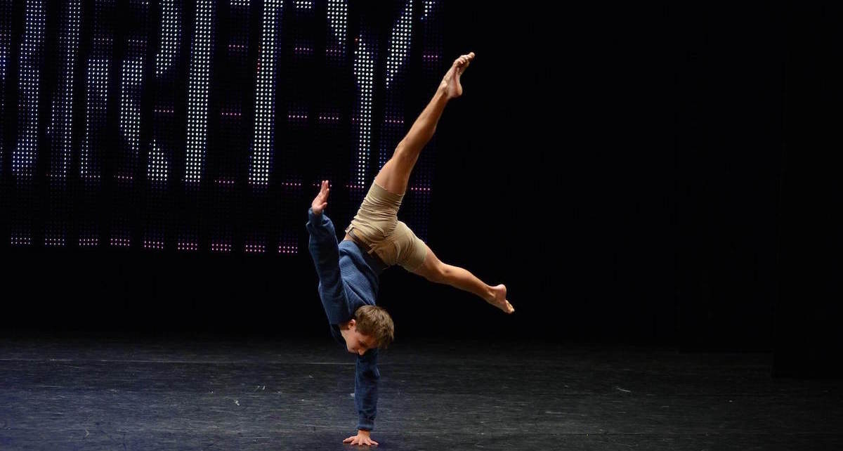 Alex Swader in competition at The Dance Awards. Photo by Modern Picture.