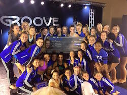 Barbara Hatch School of Dance at Groove Nationals. Photo courtesy of Barbara Bouchard.