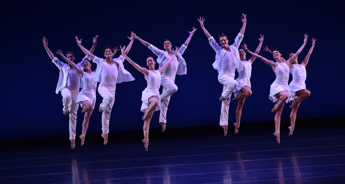 Choreography by Nicole Haskins for NCI. Photo by Dave Friedman.