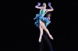 Choreography by Sarah Tallman for NCI. Photo by Dave Friedman.