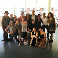 DTDC's 'The Donner Party Project' at Broadway Dance Lab. Photo courtesy of Jeffry Denman.