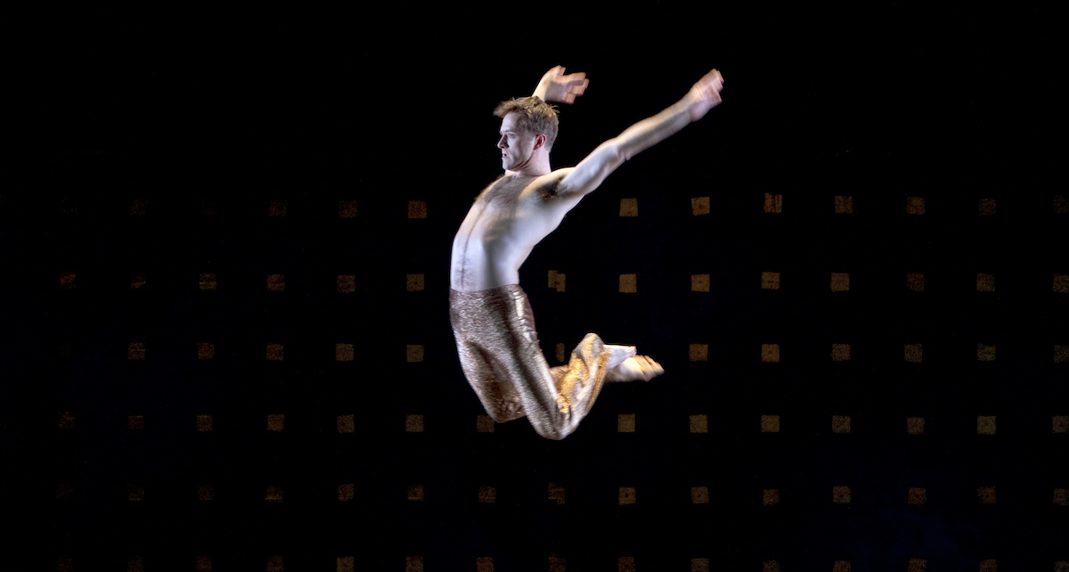 James Samson in Paul Taylor's 'Byzantium'. Photo by Paul B. Goode.