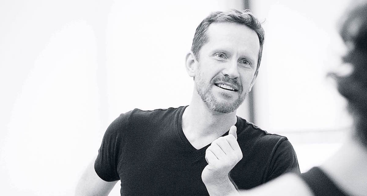 Jeffry Denman, artistic director of Denman Theatre and Dance Company. Photo by Daryl Getman.