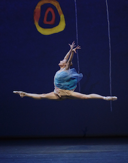 NYCB's Sara Mearns in Alexei Ratmansky's 'Pictures at an Exhibition'. Photo by Paul Kolnik.