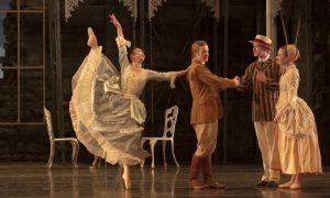 Sarah Chun in Michael Pink's 'Dracula' at Kansas City Ballet. Photo by Jessica Kelly.