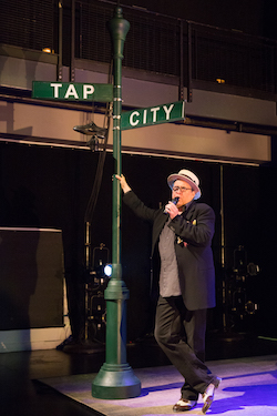 Tony Waag in 'Tap Treasures' during Tap City 2016. Photo by Amanda Gentile.