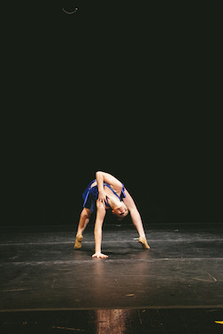 A dancer from A Step Ahead Performing Arts Studio. Photo by James Jin.