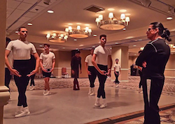 Daniel Catanach teaching at the Sheer Talent International Ballet Intensive. Photo by Karla Barrera Mañé.