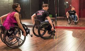 Infinite Flow - A Wheelchair Dance Company. Photo by Michael Hansel.