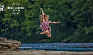 Jennifer Ferguson for Dance Across the USA. Photo by Jonathan Givens.