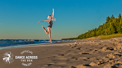 Kennedy Butterfield for Dance Across the USA. Photo by Jonathan Givens.