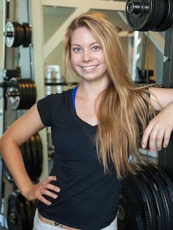 Monika Volkmar, creator of the 30-Day Restore Your Core Challenge. Photo courtesy of Volkmar.