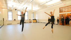 Robert LaFosse teaching Ballet for Broadway at Steps. Photo courtesy of Steps.