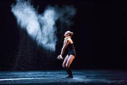 Visceral Dance Chicago's Noelle Kayser. Photo by Cheryl Mann.