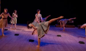 alight dance theater in 'Women's Work'. Photo by Enoch Chan.